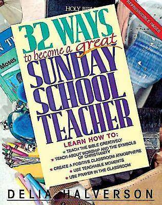 32 Ways to Become a Great Sunday School Teacher - eBook [ePub]