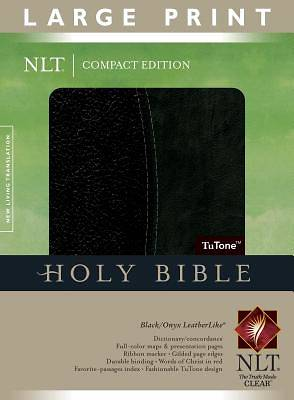 New Living Translation Compact Edition Bible, Large Print