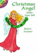 Christmas Angel Sticker Paper Doll