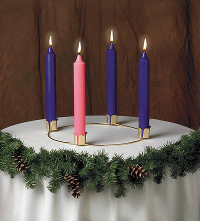Advent Wreath and Candle Set