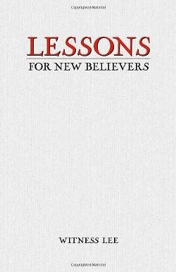 Lessons for New Believers