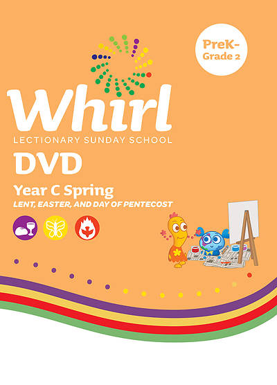 Whirl Lectionary PreK-Grade 2 DVD Spring Year C