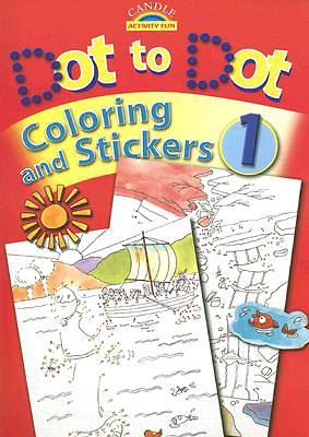 Dot to Dot Coloring and Stickers 1