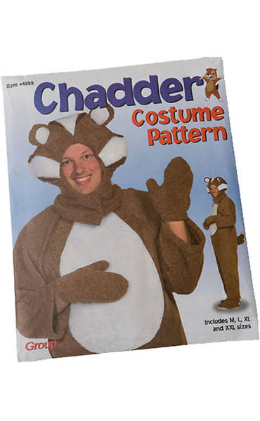 Group VBS 2013 Kingdom Rock Chadder Costume Pattern