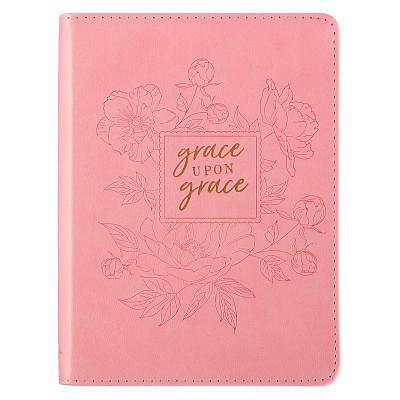 Journal Lux-Leather Flexcover Grace Upon Grace