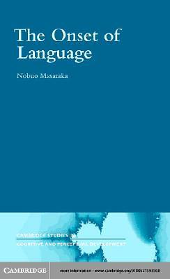 The Onset of Language [Adobe Ebook]
