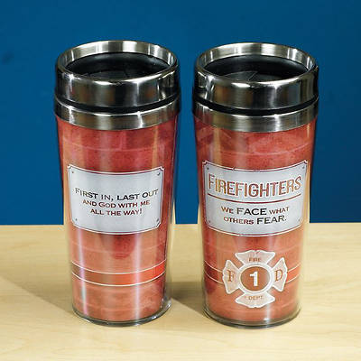 Firefighters Travel Tumbler