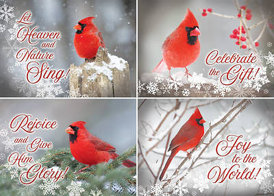 Christmas Cardinals Christmas Assorted Boxed Cards