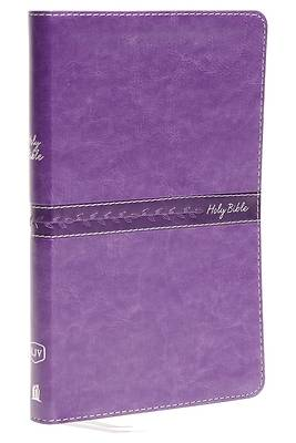 KJV, Thinline Bible, Standard Print, Imitation Leather, Purple, Indexed, Red Letter Edition