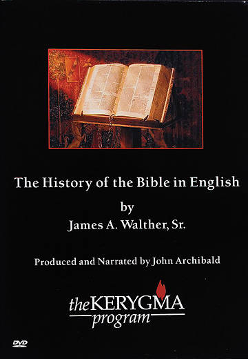 Kerygma - The History of the Bible in English DVD