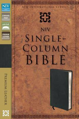 NIV Single-Column Bible