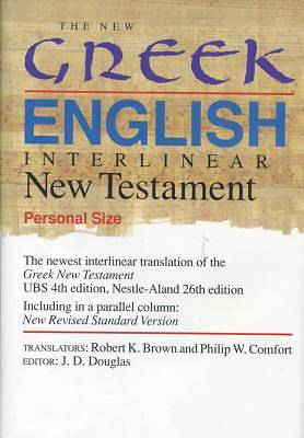 The New Greek-English Interlinear New Testament Personal Size