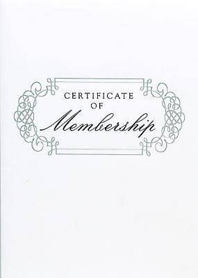 Abingdon Select Collection Membership Certificate