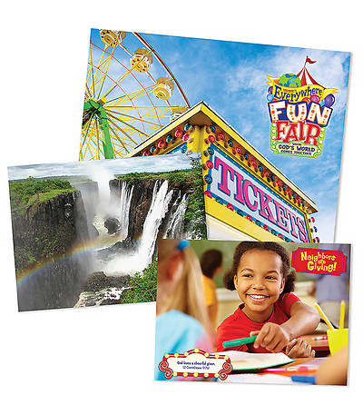 Vacation Bible School 2013 Everywhere Fun Fair Decorating Poster Pak VBS