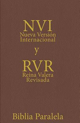 Spanish RV / NVI Parallel Bible - Brown Leatherlike