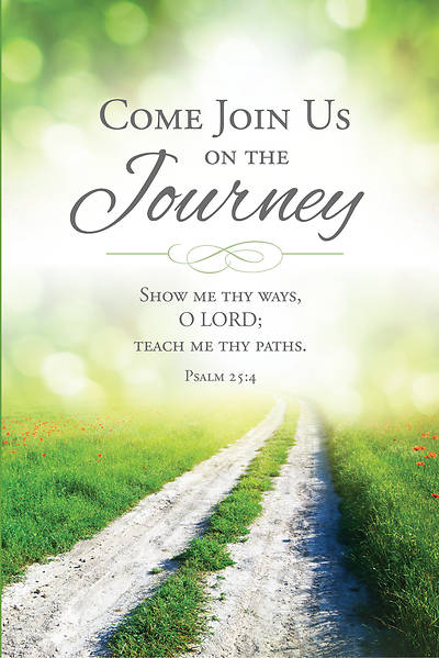 Come Join Us on the Journey Welcome Folder