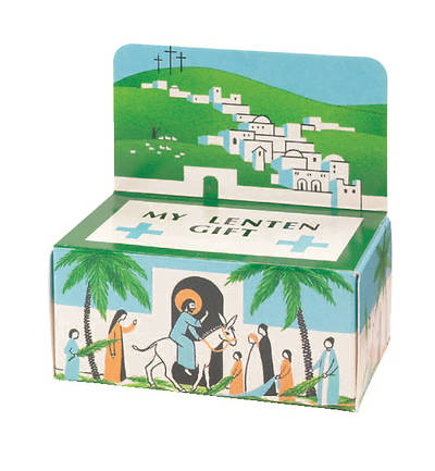 Jerusalem Lent Offering Box (package of 50)