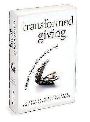 Transformed Giving Program Kit with Commitment Cards and Stickers