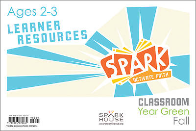 Spark Classroom Ages 2-3 Learner Leaflet Fall Year Green