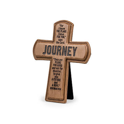 Brown Cast Stone Series - Journey Cross