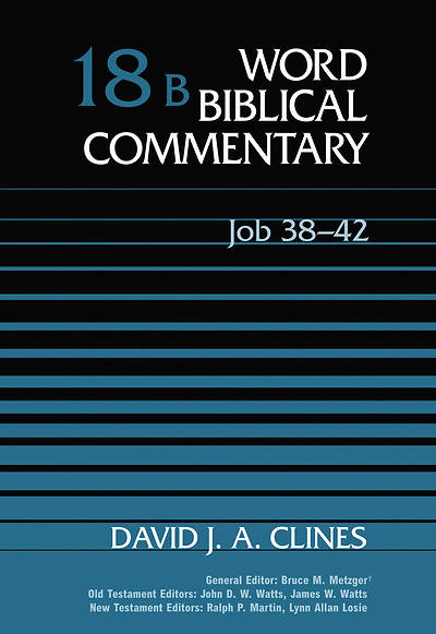 Word Biblical Commentary Job 38-42