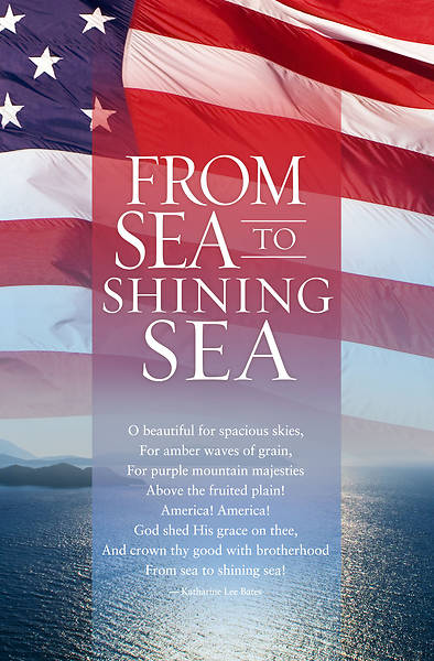 From Sea to Shining Sea Bulletin Pkg of 100