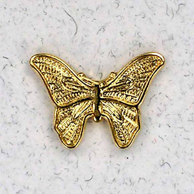 Butterfly Gold Lapel Pin