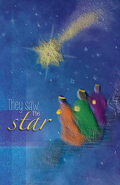 They Saw a Star Advent Regular Size Bulletin