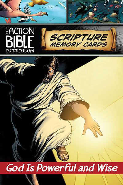 The Action Bible Scripture Memory Cards NIV Fall