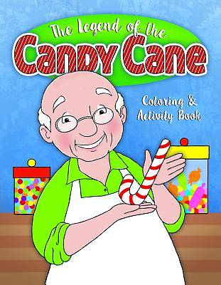 Color and ACT Bks - Christmas - Candy Cane - Lower Elementary