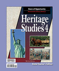 Heritage Studies 4 Home Teachers Edition 2nd Edition