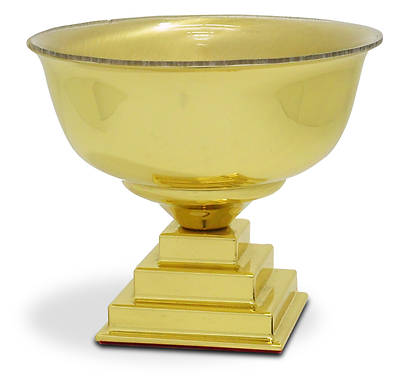 Solid Brass Baptismal Bowl