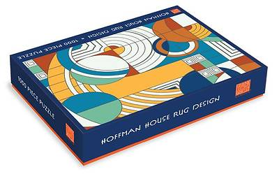 Frank Lloyd Wright Foundation Hoffman House Rug Design 1000 Piece Puzzle