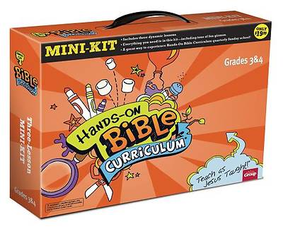 Hands-On Bible Curriculum: 3-Lesson Mini-Kit Grades 3 & 4