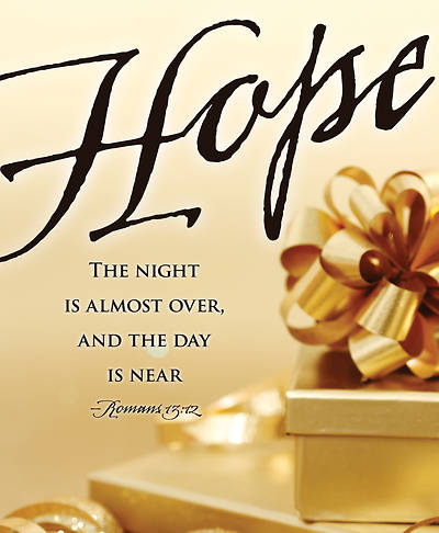 Hope Gifts Images Advent Bulletin, Large (Pkg of 50)
