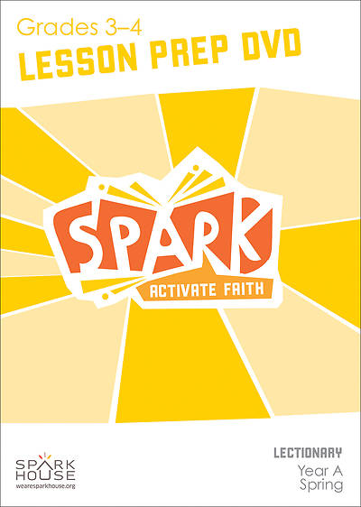 Spark Lectionary Grades 3-4 Preparation DVD Spring Year A