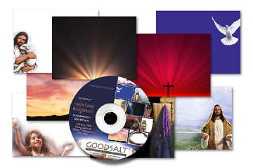 GoodSalt™ Inspirational Backgrounds on CD-ROM Volume 1