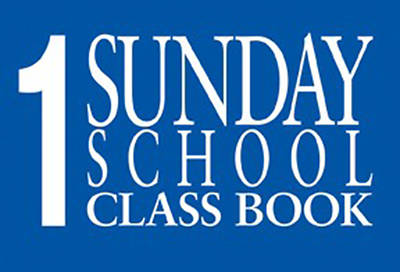 Judson Sunday Church School Classbooks 24 Names (Package of 12)