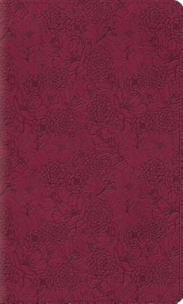 ESV Kids Thinline Bible (Trutone, Pink Petals)