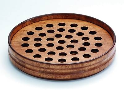 Maple Communion Tray - Antique Finish