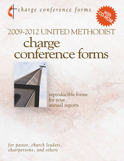 2009-2012 United Methodist Charge Conference Forms with CD-ROM
