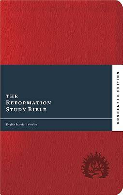 ESV Reformation Study Bible, Condensed Edition (2017) - Red, Leather-Like