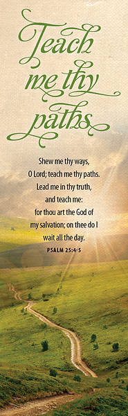 Show Me Thy Ways O Lord  Bookmark