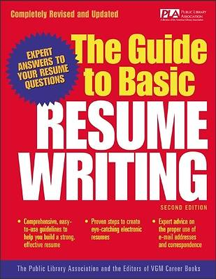 The Guide to Basic Resume Writing [Adobe Ebook]