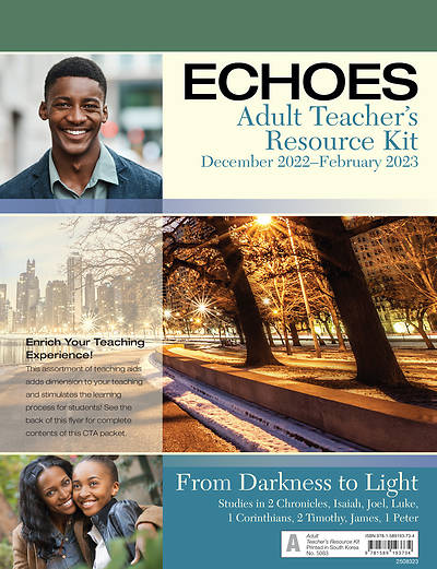 Echoes Adult Comprehensive Teachers Resource Kit Winter