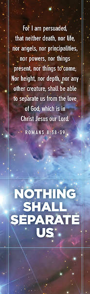 Nothing Shall Seperate Us Bookmark