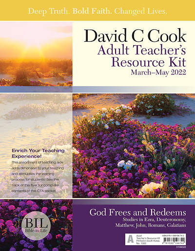 Bible-In-Life Adult Teacher Resource Kit Spring