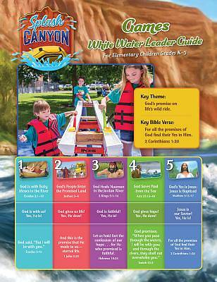 Vacation Bible School (VBS) 2018 Splash Canyon Game Guide