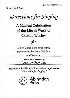 Directions for Singing - Oboe 1 & 2