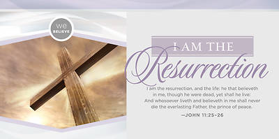 I Am the Resurrection Easter Offering Envelope - Pack of 100